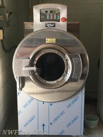 PPE Washer/Extractor purchased by the NWFD Auxiliary